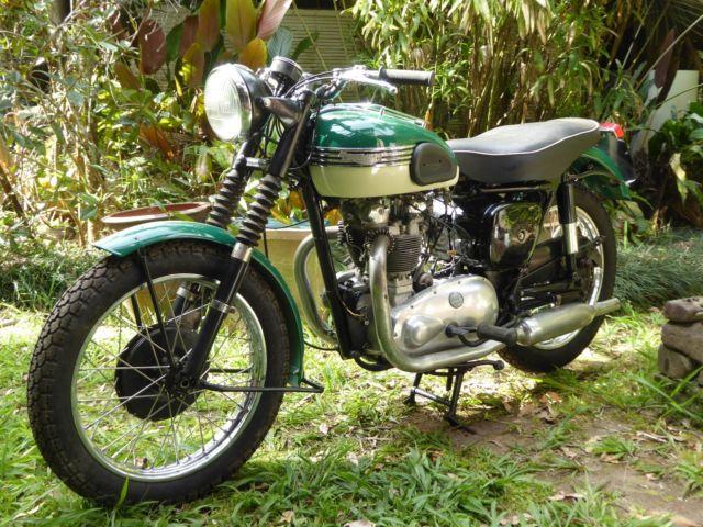 TRIUMPH TIGER 100 1956