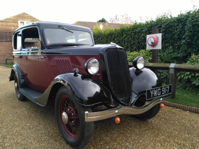 Ford Model Y - 1934 - 1 Owner - Barn Stored 35 Years - Mot - Tax Free -