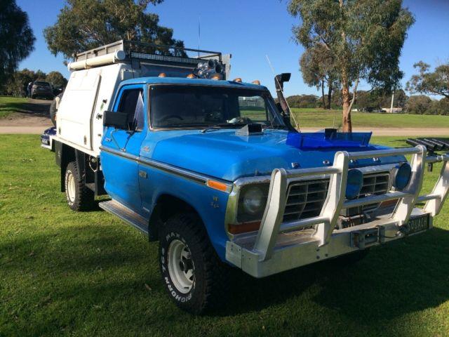 1977 Ford F100 4x4 351 5.8 Camper
