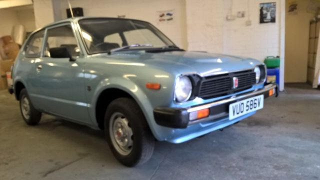HONDA CIVIC EARLY JAPANESE IMPORT NEW MOT LOW MILES AUTO NOT DATSUN TOYOTA
