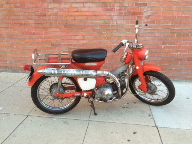 Vintage 1968 Honda CT Trail 90 Rarest K0 Runs Great very Cool