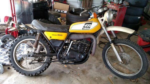 1975 Yamaha Dt-400 , Enduro , 1st Year  Made Exc.  Shape