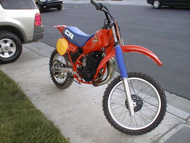 1983 Honda CR480R Motocrosser