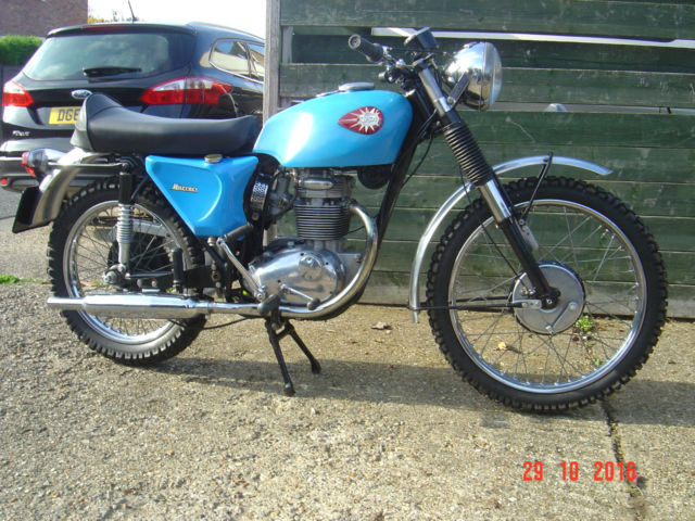 BSA Barracuda 250 1967 Barn Find! Last used 1975.
