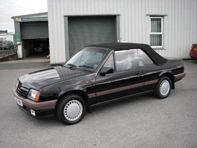 1986 VAUXHALL CAVALIER 1.8i CABRIO Convertible