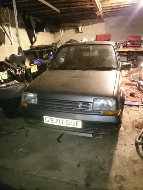1990 RENAULT 5 GT TURBO .SPARES OR REPAIR (PROJECT)