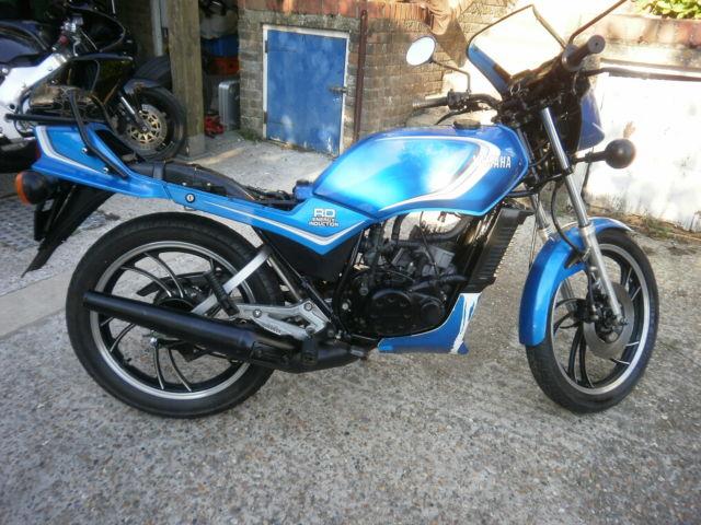 Yamaha RD125LC MK1 10W 1982 Retro Classic full power sports 80s 125