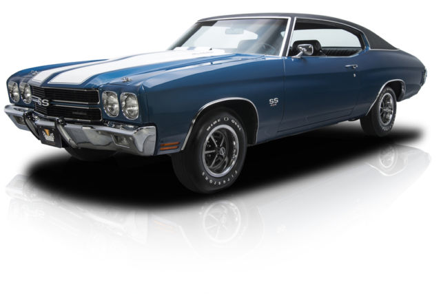 Documented Numbers Matching Chevelle SS LS6 454 V8 M22 4 Speed 12 Bolt 4.10