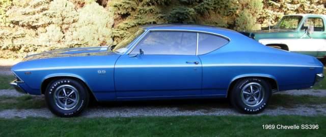 1969 Chevelle 396 4 speed