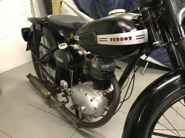 Terrot 1954 - French totally original Classic Motorcycle 125cc Four stroke