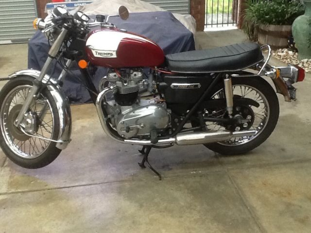 Triumph Tiger 1977 TR7RV 750cc - matched numbers bike