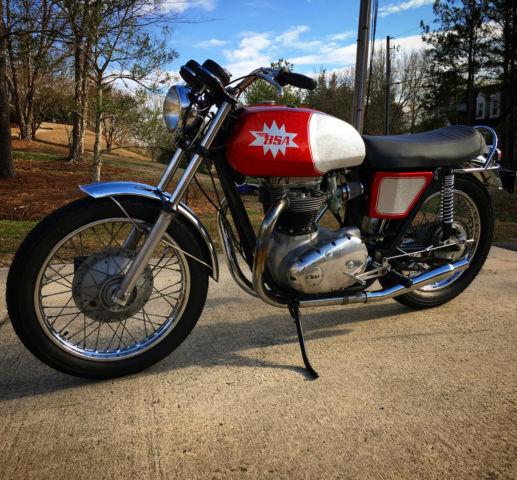 1971 BSA Lightning beautiful ready to ride
