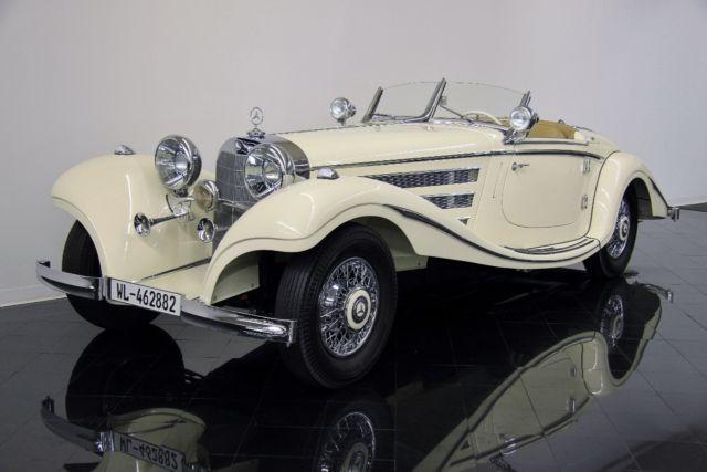 1935 Mercedes-Benz 500K Special Roadster Franz Prahl