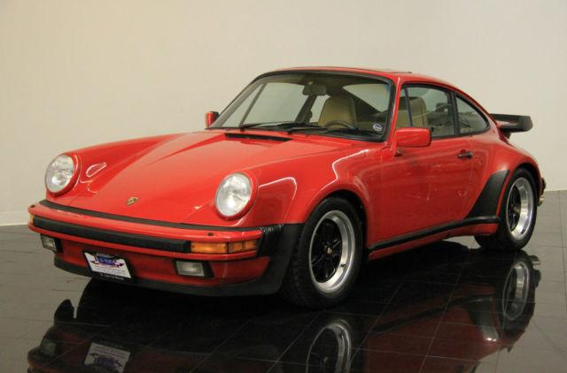 1987 Porsche 911 Turbo Carrera Coupe *$942 PER MONTH* 2-Door 34K original miles!