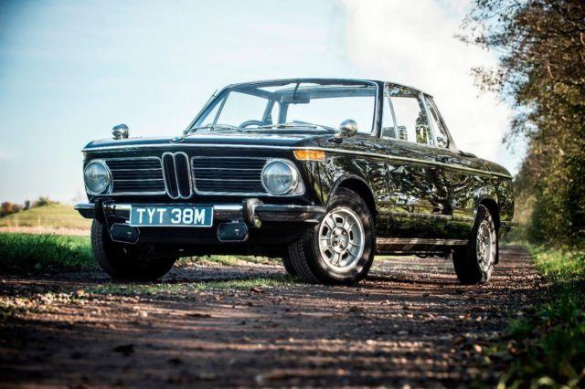 1973 BMW 2002 CABRIOLET BLACK