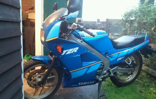 Authentic, fully restored Yamaha TZR125 2RK, 1987model, UK bike, mint condition