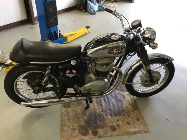 1969 BSA Lightening 650cc Very Original and Perfectly Running