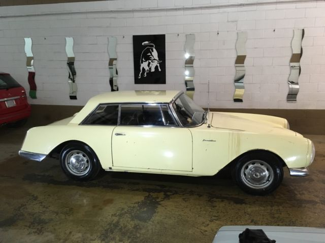 1961 Facel Vega Facellia F2 all original. Worldwide shipping.