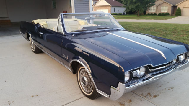 1967 Oldsmobile Cutlass Supreme Convertible All Original