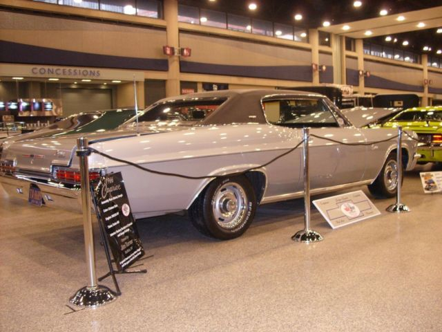 1966 Chevrolet Caprice Coupe, Silver with black interior