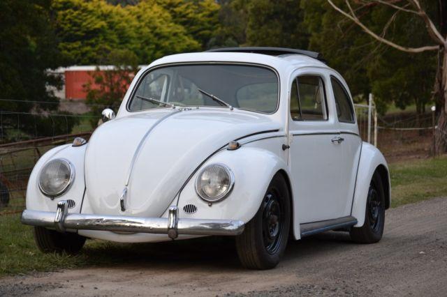 1962-63 volkswagen beetle ragtop (no reserve)
