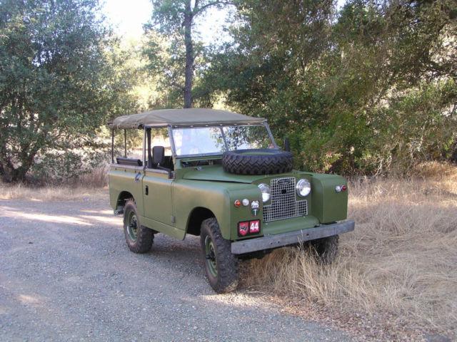 1964 Series IIa - Right Hand drive - Short wheel base 88