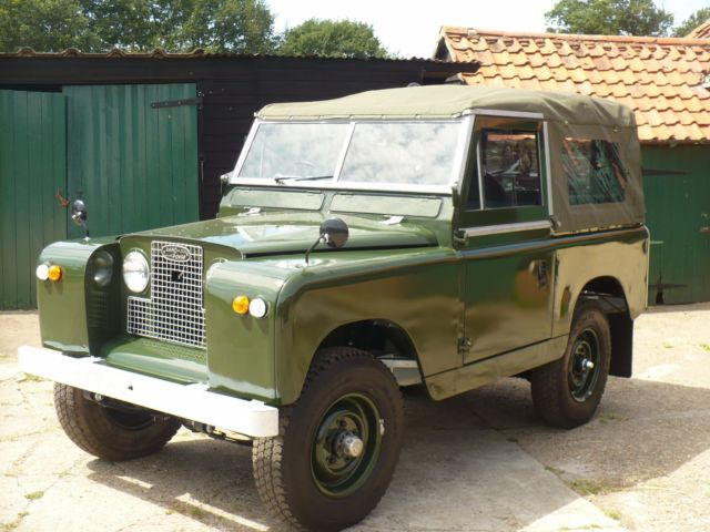 LAND ROVER 88IN REGULAR SOFT TOP PETROL 1967