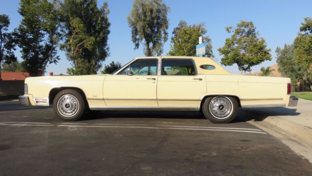1979 Lincoln Continental Town Car - Custom Ordered Calif Car - Family Owned