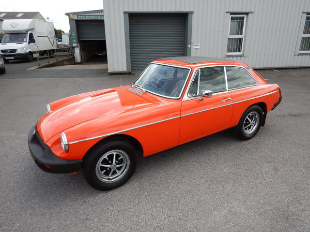 1978 MGB GT ~ Manual with Overdrive