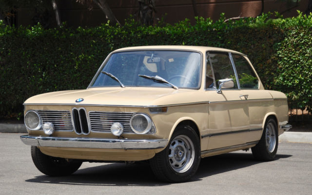 1971 BMW 2002Tii, NO RESERVE mechanical rebuild, restored, leather, rare roundie