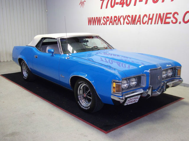 1972 Mercury Cougar XR-7 Convertible