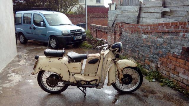 Moto guzzi galletto 1955