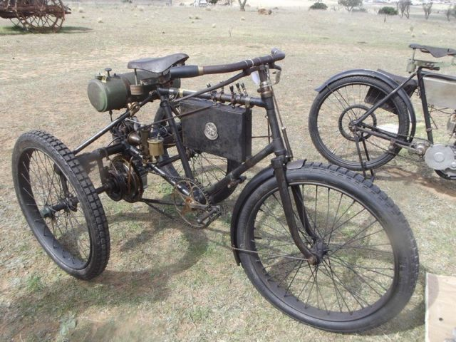 c1898 DE DION BOUTON PEUGEOT MOTORTRICYCLE~A PRICELESS, RUNNING ORIGINAL