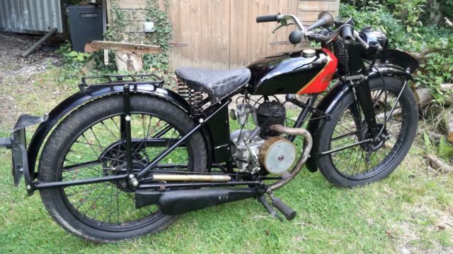 Coventry Eagle 125cc 1938, Villiers 2 stroke, like James
