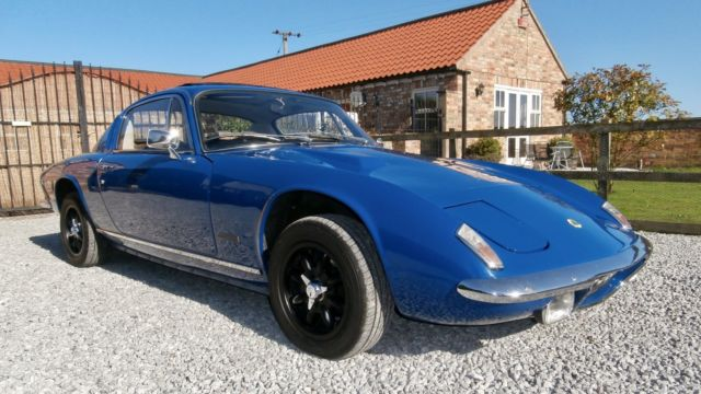 Lotus Elan Plus 2S   ( 130 spec )   Price Reduced as space urgently needed