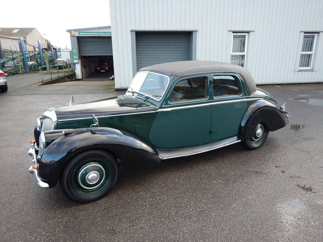 1954 RILEY 1.5 Litre RME Four Door Saloon