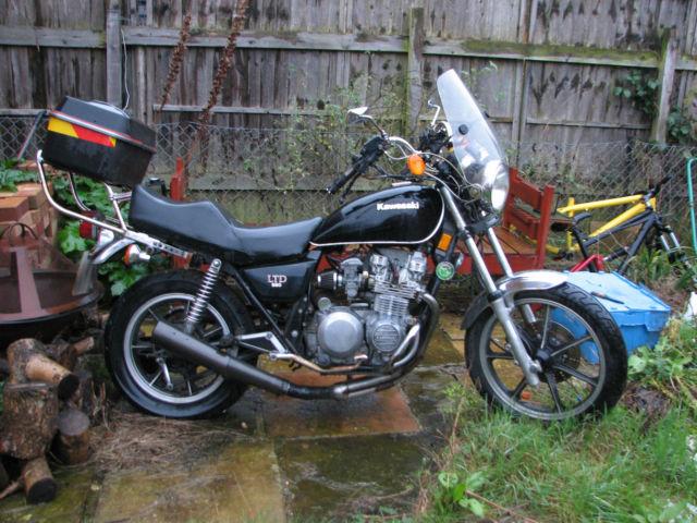 1981 Kawasaki KZ550 LTD project