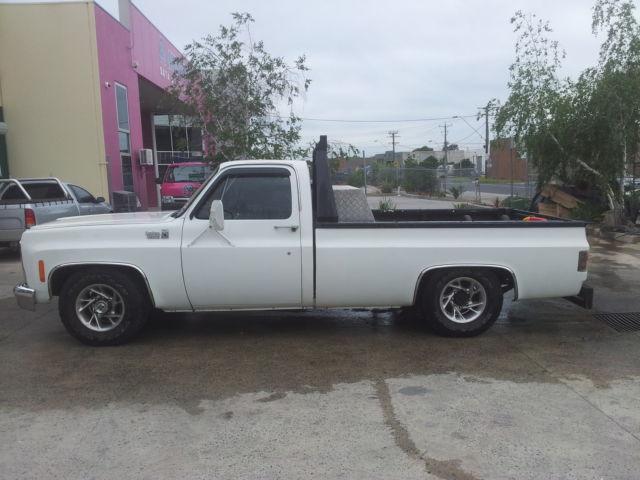 Chevrolet C20 ute 1980 383sbc 6spd T56 chevy pickup C10 C30 tonner