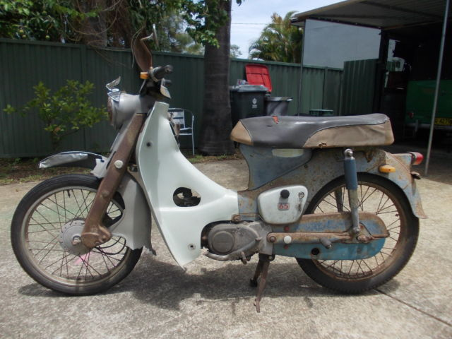 1965 HONDA STEP THROUGH,C65,C50,C70,C90,C100,HOTROD,RATROD,CAFE RACER,RARE