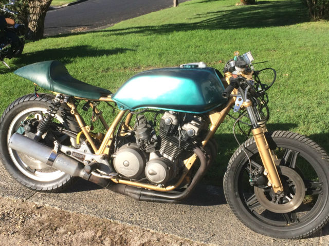Honda CB750 Fz Cafe Racer - Unfinished Project