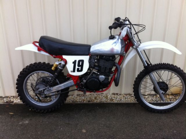 Yamaha TT500 VMX Racing Enduro Bike Vintage Collector Classic Rebuilt MX