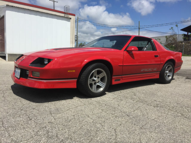 1989 Chevrolet Camaro Z28 L98 2 Door Sport Coupe