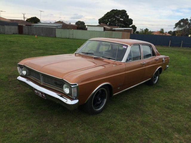 XY FAIRMONT 1971 351 AUTO