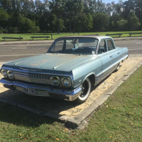 Chevrolet Bel Air (1963) 4D Sedan Automatic (4.6L - Carb) Seats