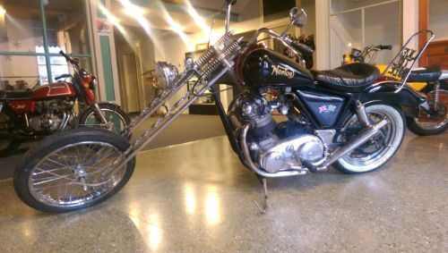 1973 Norton Featherbed Frame Chopper with Commando Motor