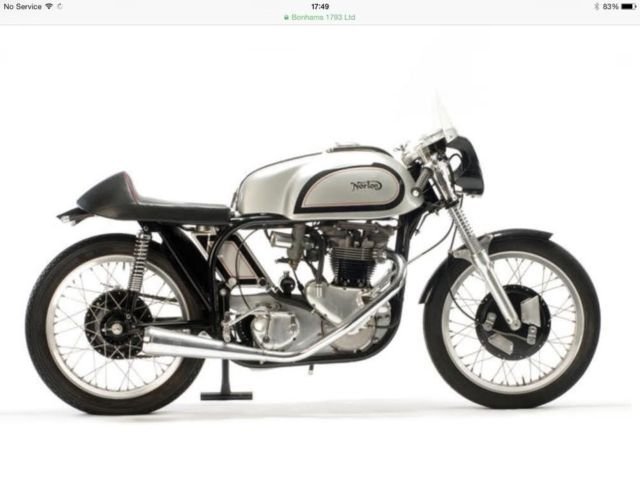 1957 Other Makes 650cc Cafe Racer