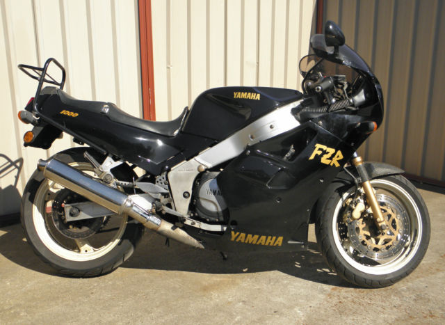 South Wales Superbikes >> Yamaha Fzr1000 1987 Good Strong Runner Unregistered
