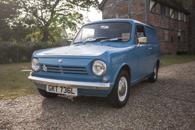 1972 Reliant Rebel Van, - MOT'd, Tax Exempt (project, classic car restoration)