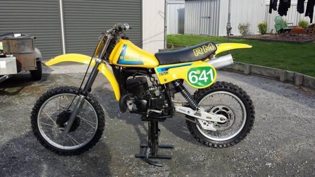 Vintage MotoX RM250T