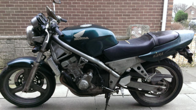 Honda CB-1 motorcycle for repair or spare parts
